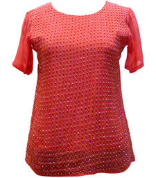 Buy Viscose Ggt. With Stud work dress online