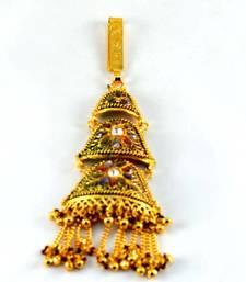 Buy gold platted satka brooch  brooch online