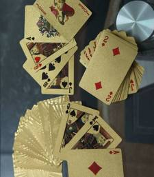 Buy Golden Playing Cards stationery online