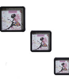 Buy Blush Black 3 Unique Collage Photo Frames housewarming-gift online