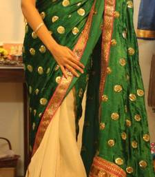 Buy Green Lantern wedding-saree online