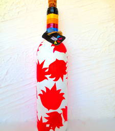 Buy Recycle.Reuse.Rehyderate-FLOWER FIXATION-hand-painted bottles other-home-accessory online