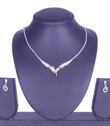 Buy Cz Necklace By Swarajshop Necklace online