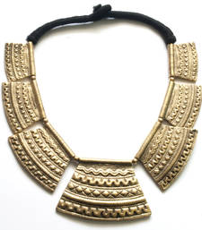 Buy Beautiful Mayan, Gold Alloy Necklace Necklace online