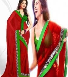 Buy BOLLYWOOD PARTYWARE CHIFFONE SAREE  deepika-padukone-saree online