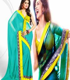 Buy BOLLYWOOD PARTYWARE CHIFFONE SAREE deepika-padukone-saree online
