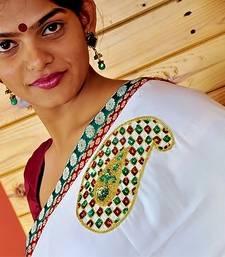 Buy KALAKOIERY crepe-saree online