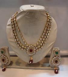 Buy Design no. 10b.1469....Rs. 3950 necklace-set online