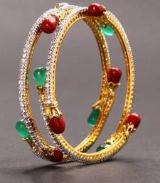 Buy Design no. 16.198....Rs. 1500 pair  bangles-and-bracelet online