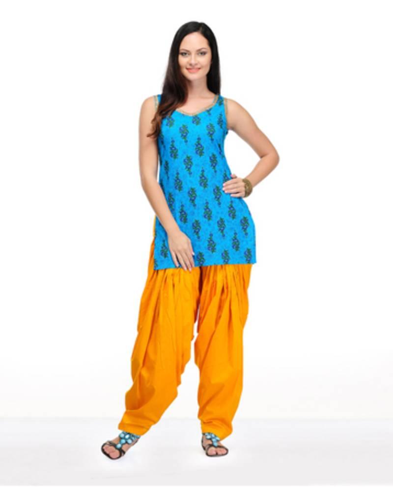 Buy Teal Green Stripes Chanderi Silk Kurtis Online