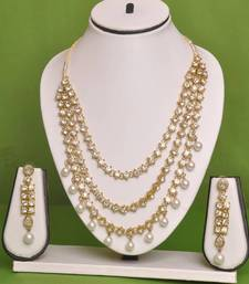 Buy Lovely Stone Necklace By APCreation necklace-set online