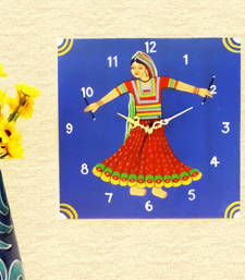 Buy Wooden Wall Clock - Garbha wall-clock online