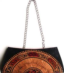Buy Shantiniketan Designer Ladies Leather Fashion Clutch / Sling / Handbag / Purse clutch online