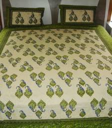 Buy Jaipuri Cotton Double Bed Sheet other-home-furnishing online