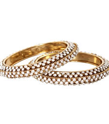 Buy Gold Diamond bangles-and-bracelets bangles-and-bracelet online