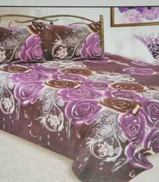 Buy Amazing Purple Cotton Double bed sheet other-home-furnishing online