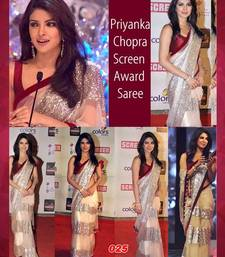 Buy Bollywood Replica Priyanka Chopra Award Saree priyanka-chopra-saree online