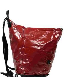 Buy Just Women Red Colour Backpack backpack online