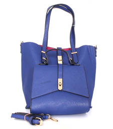Buy Blue fashion tote bag tote-bag online