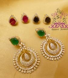 Buy Unique Changeable Stone Danglers danglers-drop online