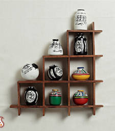 Buy Wall decor with miniature pots wall-art online