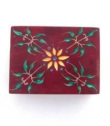 Buy Carved Marble Box -RED gifts-for-her online
