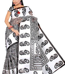 Buy Pavecha's  Mangalgiri Cotton Blend Printed Saree MK650 cotton-saree online