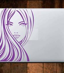 Buy Woman face laptop decal laptop-skin online