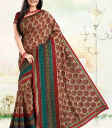 Buy Stylish Printed Saree art-silk-saree online