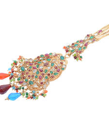 Buy Mast Desi Multi-colour Saree Challa/ Waist Key Chain/Satka key-chain online