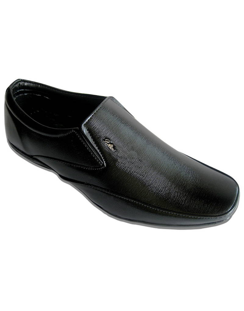 buy black formal slip on shoes