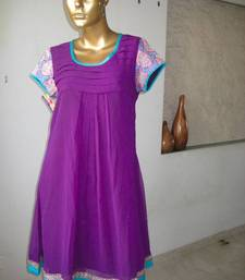 Buy Purple Georgette tunic tunic online