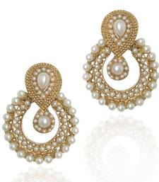 Pearl traditional ethnic Indian earring b332 shop online