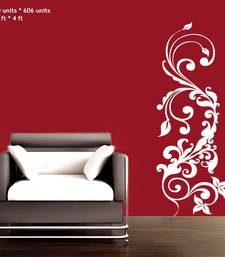 Buy Medium Floral Graphic Wall Decal Modern Graphic wall-decal online