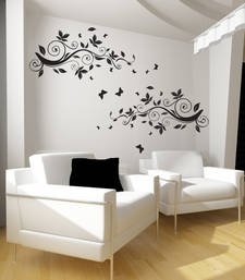 Buy Medium Vines Of Spring Wall Decal Modern Graphic wall-decal online