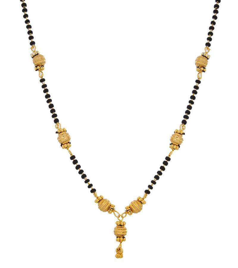Buy Designer Gold Plated Mangalsutra Online