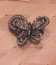 Buy Golden Brown Butterfly Hair Clip hair-accessory online