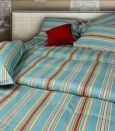 Buy Just Linen  King SizePremium Designed Striped Quilted Comforter quilt online
