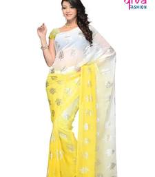 Buy Efficacious Casual wear fancy saree by DIVA FASHION-Surat georgette-saree online