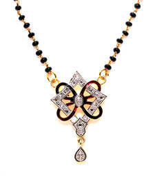 Buy Multicolor gold plated mangalsutra mangalsutra online