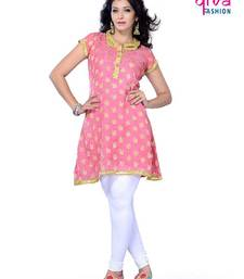 Buy Designer Kurti made from Jacquard by DIVA FASHION-Surat kurtas-and-kurti online