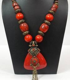 Buy Chic And Dainty Red Bead Necklace gifts-for-her online