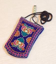 Buy Multi Colored Flower Mobile Cover clutch online