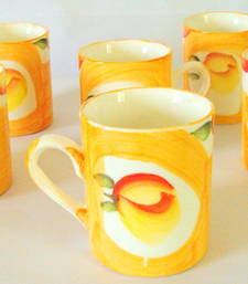 Buy Tea cups  color everybody's mood set of six pc tea-kettle online
