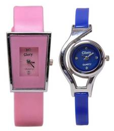 Buy Multicolor leather watches for women watch online