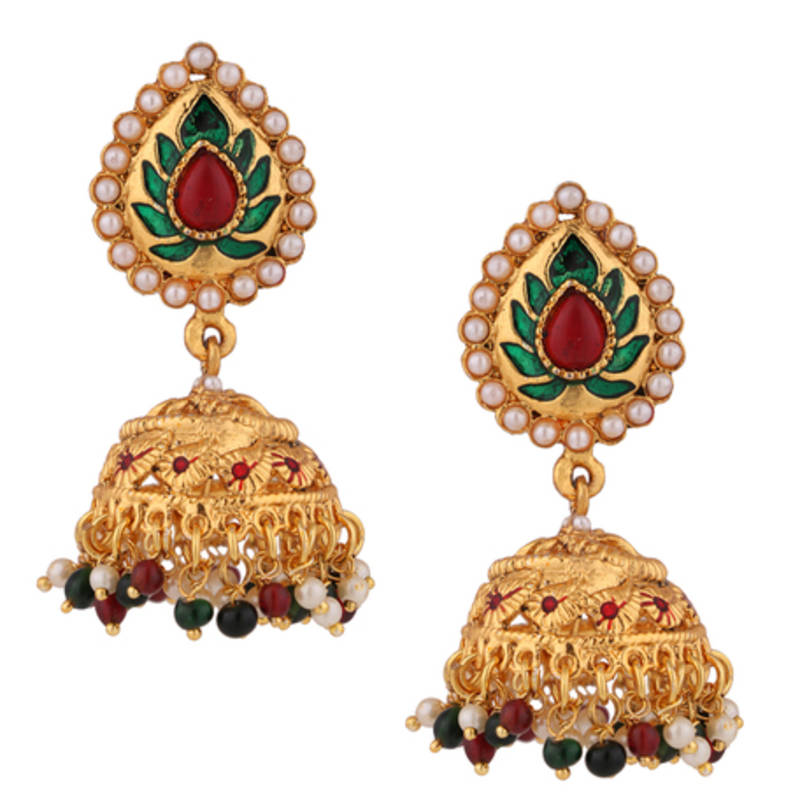 buy jhumkas earrings for pearls jhumka jhumki bridal