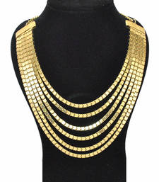 Buy The Bling Necklace-Gold collar-necklace online