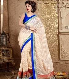 Buy Party wear designer saree cotton-saree online