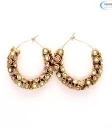Buy Designer diamond earrings hoop online