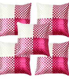 Buy Amazing Pink Cushion Covers- Set of 5 other-home-furnishing online